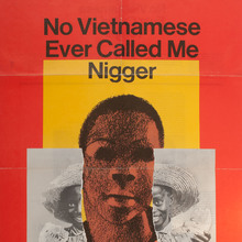 <cite>No Vietnamese Ever Called Me Nigger</cite> movie poster