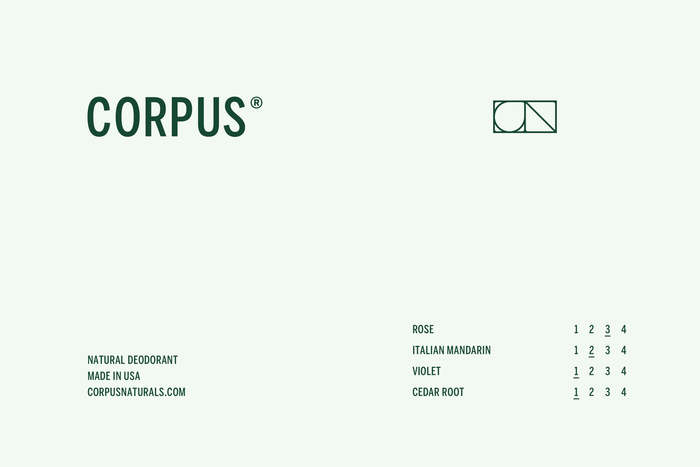 Corpus Naturals deodorants 3