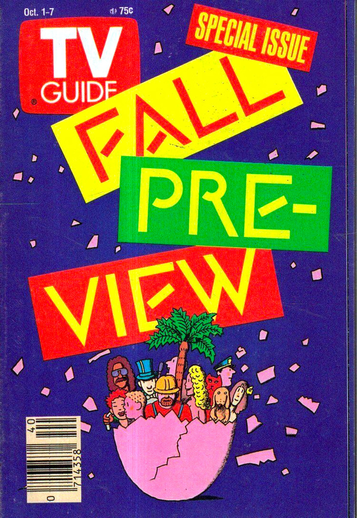 TV Guide, 1988–89 Fall Preview 1