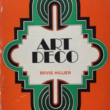 "<cite>Art Deco of the 20s and 30s</cite> by Bevis Hillier (Studio Vista<span class=""nbsp"">, 1968</span> and Schocken, 1985)"