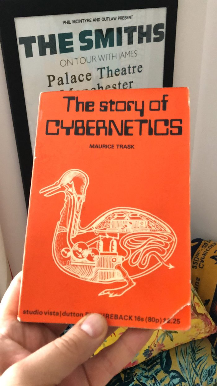 The Story of Cybernetics by Maurice Trask (Studio Vista/ Dutton Pictureback) 2