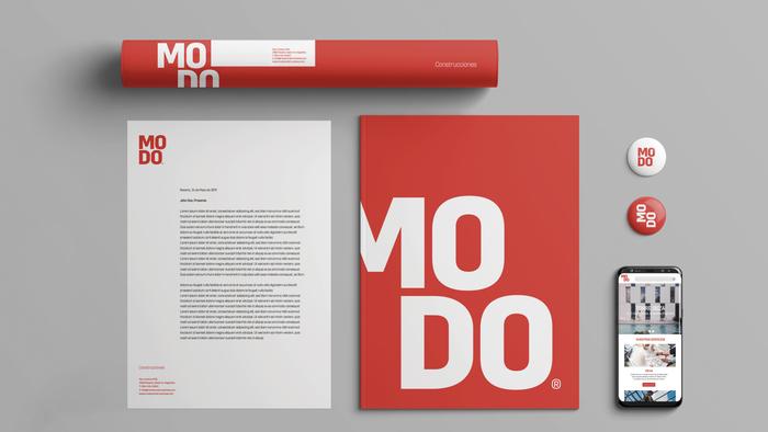 Modo Construcciones identity 5