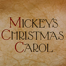 <cite>Mickey's Christmas Carol</cite> (1983) opening titles