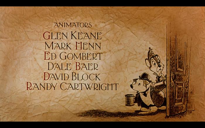 Mickey's Christmas Carol (1983) opening titles 6