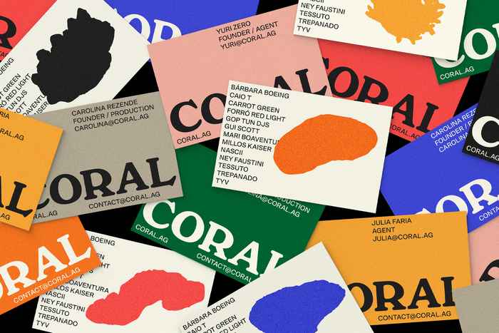 Coral Agency identity and website 4