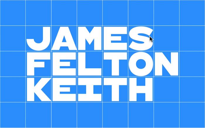 James Felton Keith campaign identity 14