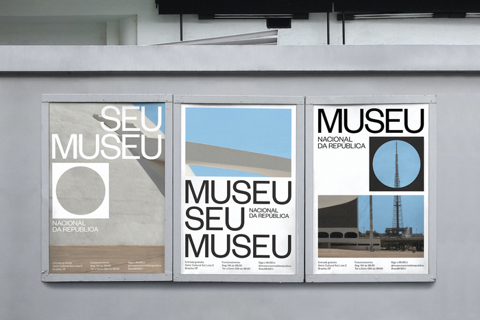 Museu Nacional da República identity 5
