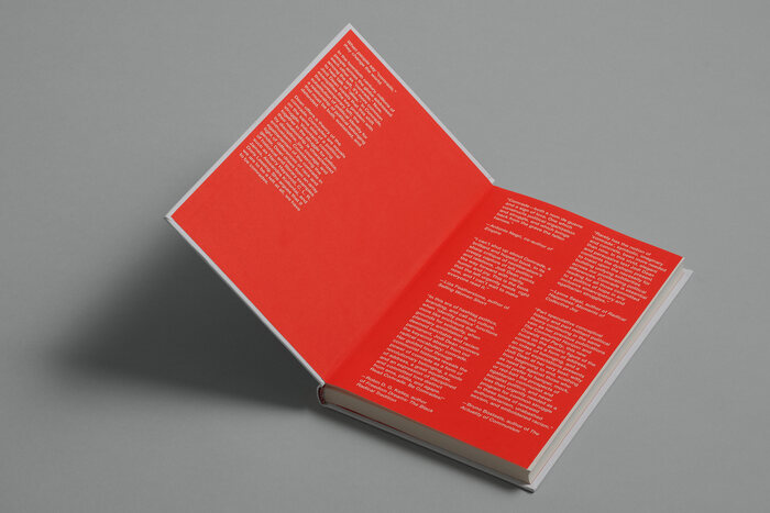 Medium is used in roman and italic styles for the text on the endpapers.