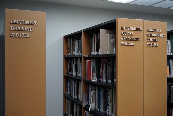 KABK The Hague library signs 6