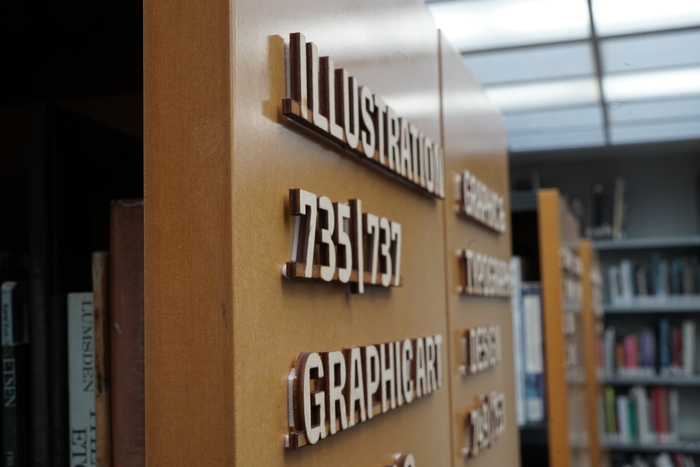 KABK The Hague library signs 7