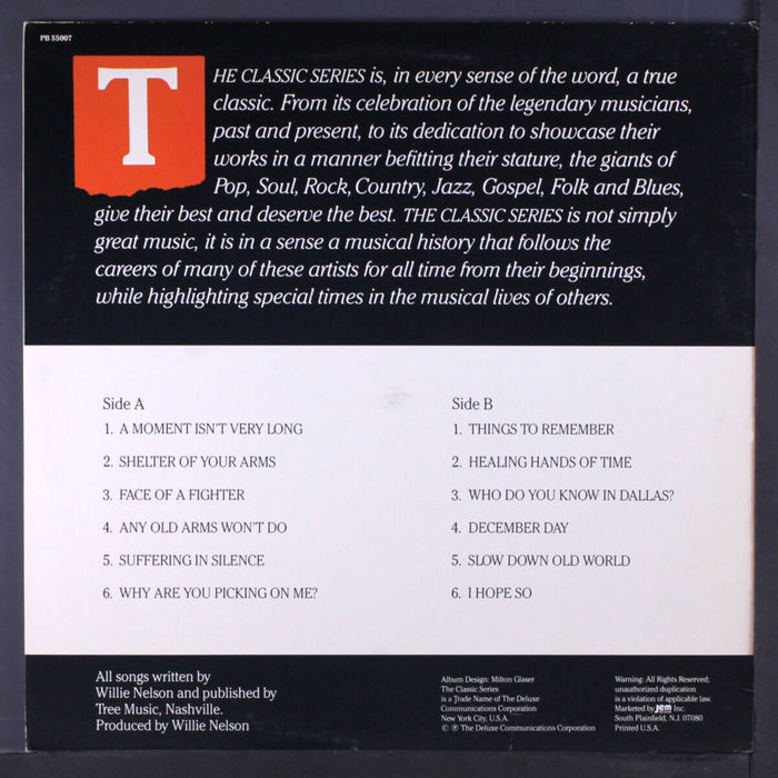 Willie Nelson – Lone Star album art 2
