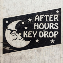 After hours key drop box, Chicago