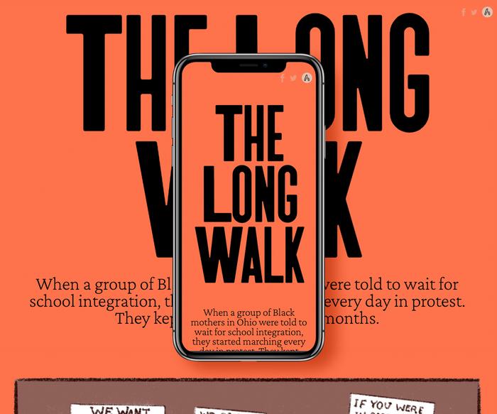 "The Atavist Magazine – ""The Long Walk"" 1"