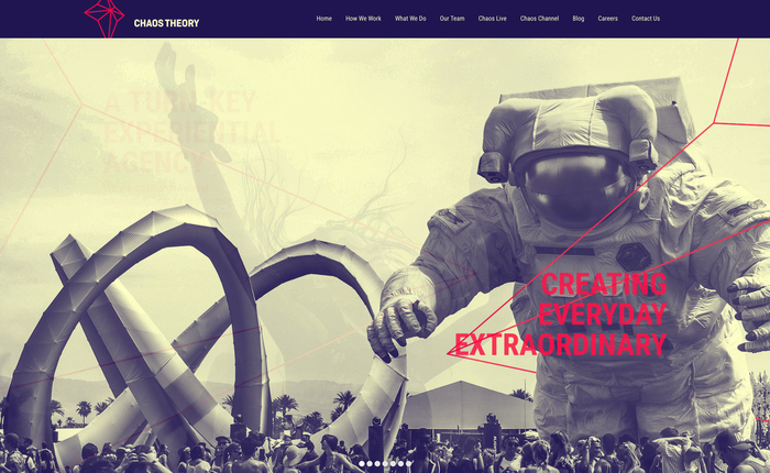 Chaos Theory identity and website 7