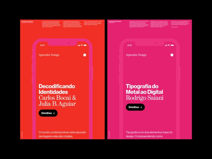 Aprender Design website 2