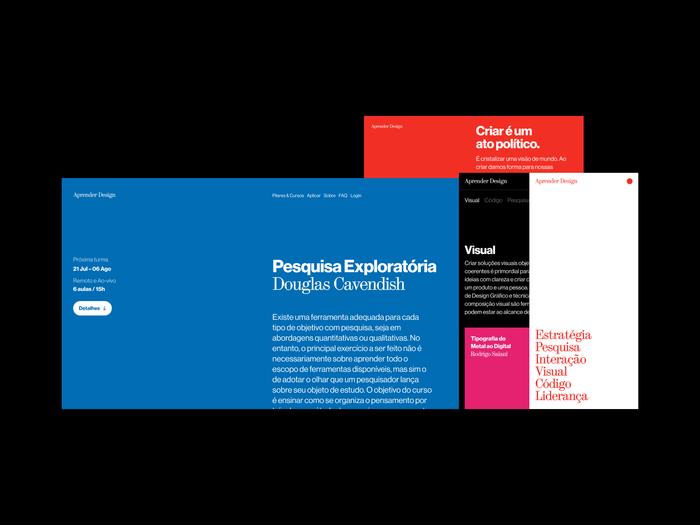 Aprender Design website 4
