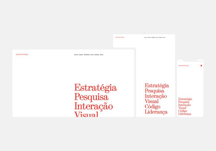 Aprender Design website 5