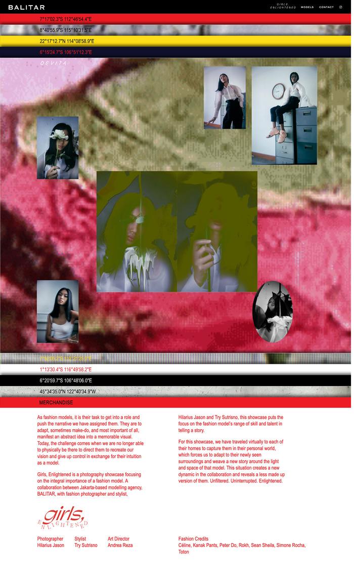 Girls, Enlightened showcase 5