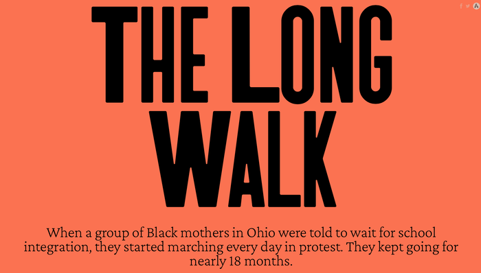 "The Atavist Magazine – ""The Long Walk"" 2"