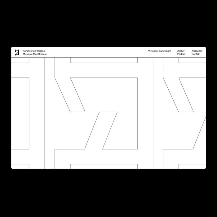 Kunstverein Weiden website 1