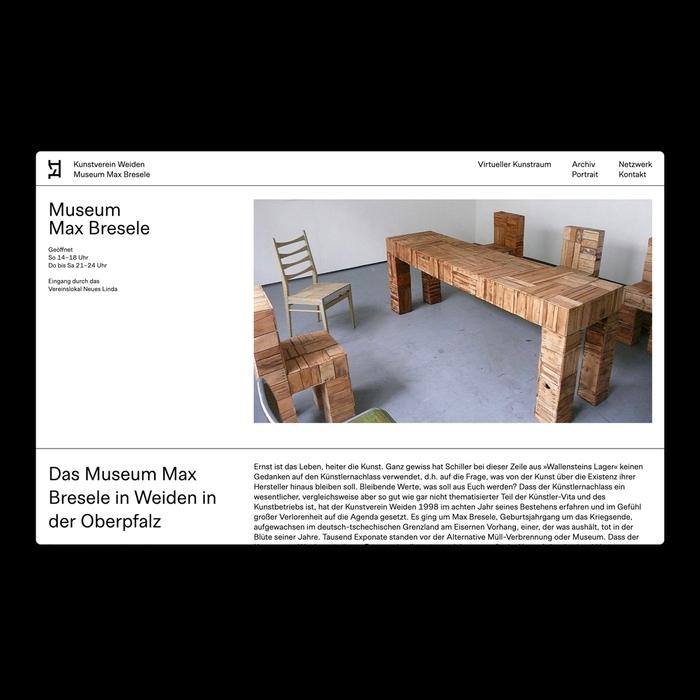 Kunstverein Weiden website 4