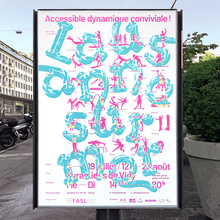 <cite>Lausanne sur Mer</cite> 2020 campaign posters