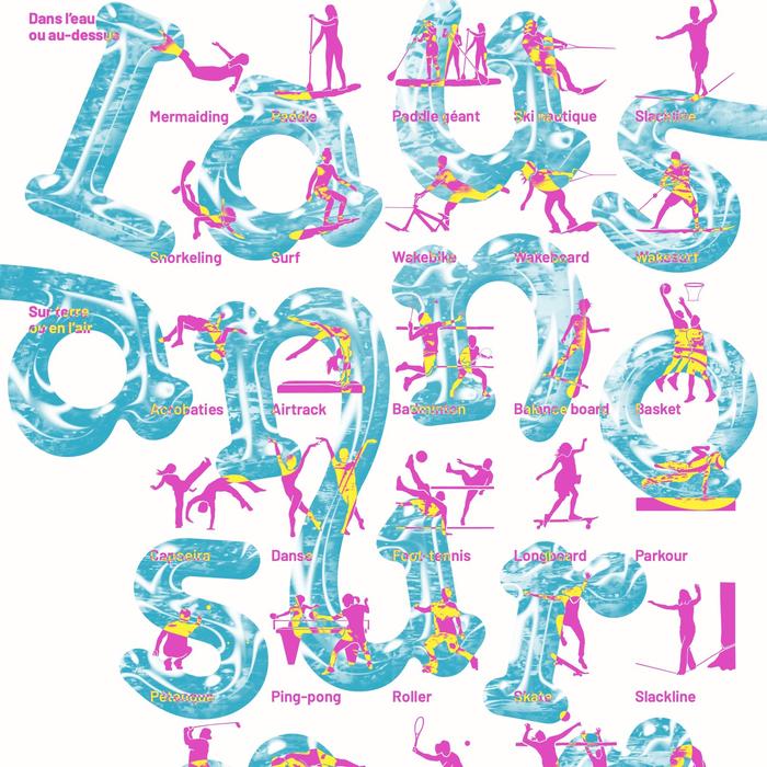 Lausanne sur Mer 2020 campaign posters 1