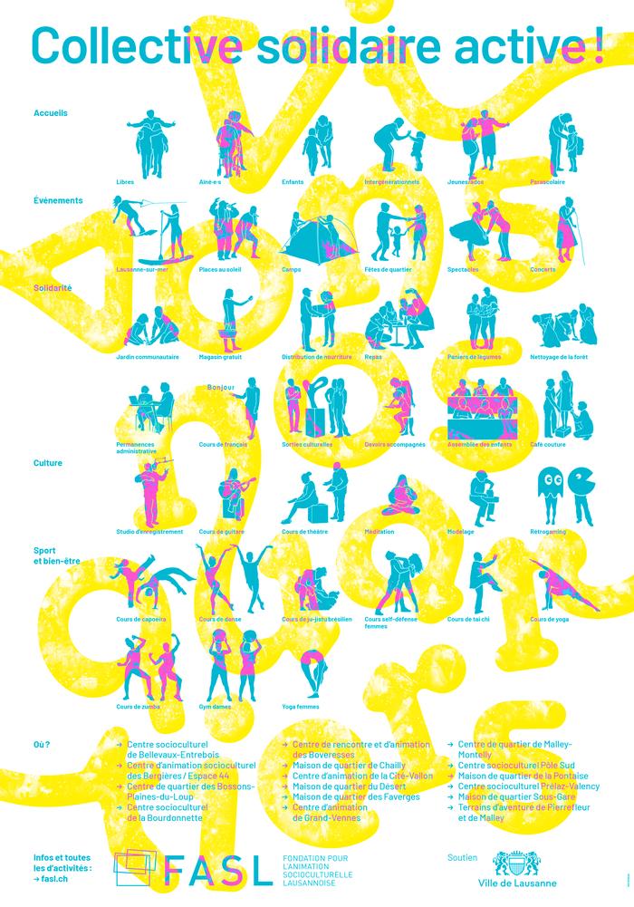 Lausanne sur Mer 2020 campaign posters 3