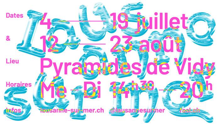 Lausanne sur Mer 2020 campaign posters 5