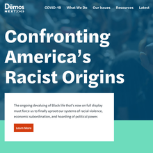 Dēmos website