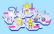 BitSummit Gaiden interactive floor map