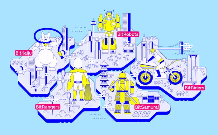 BitSummit Gaiden interactive floor map 1