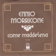 "Ennio Morricone – ""Come Maddalena"" / ""Chi Mai"" Dutch single sleeve"