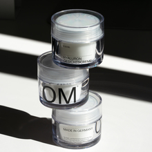 OM skincare visual identity and packaging