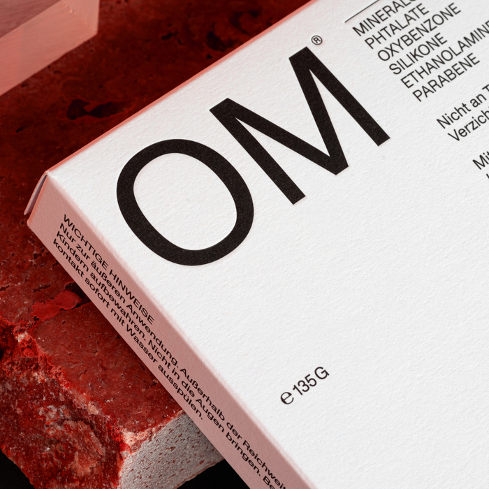 OM skincare visual identity and packaging 2
