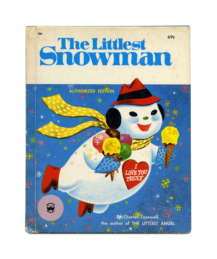 The Littlest Snowman by Charles Tazewell (Wonder Books) 1