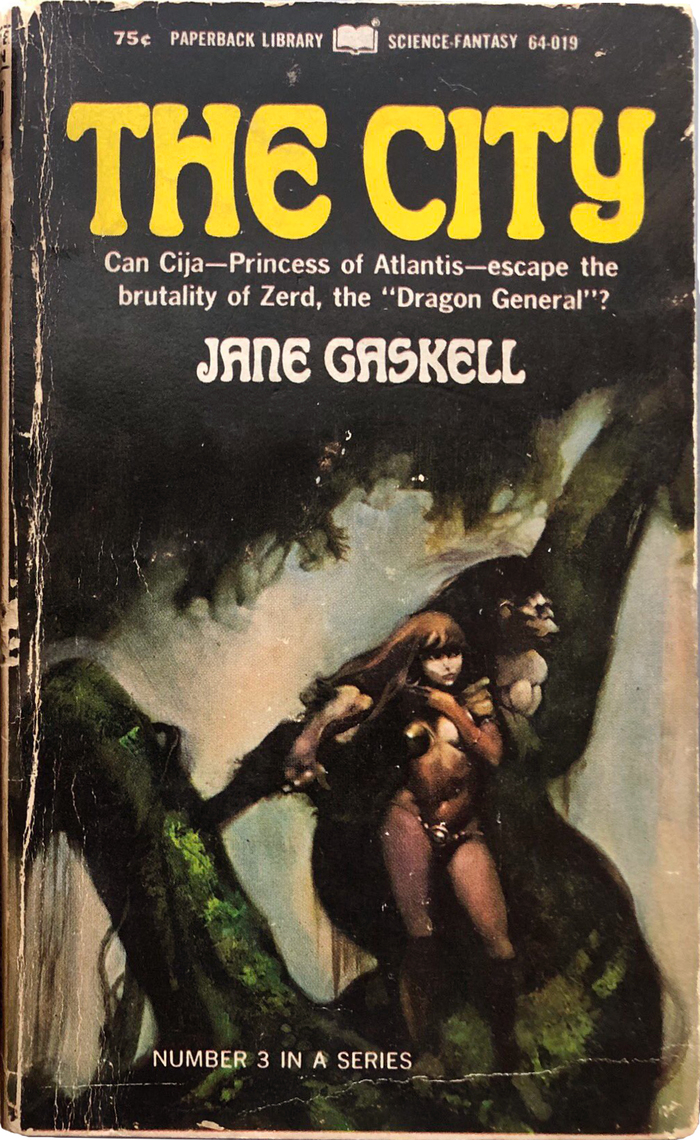 The City by Jane Gaskell (Paperback Library) 1