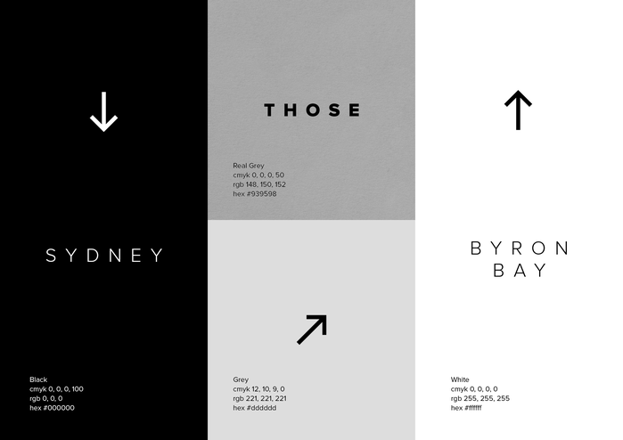 Those Architects brand identity 4