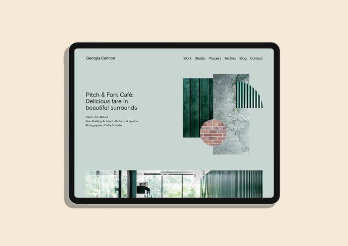 Tablet website.
