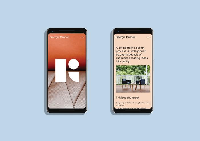 Mobile website.