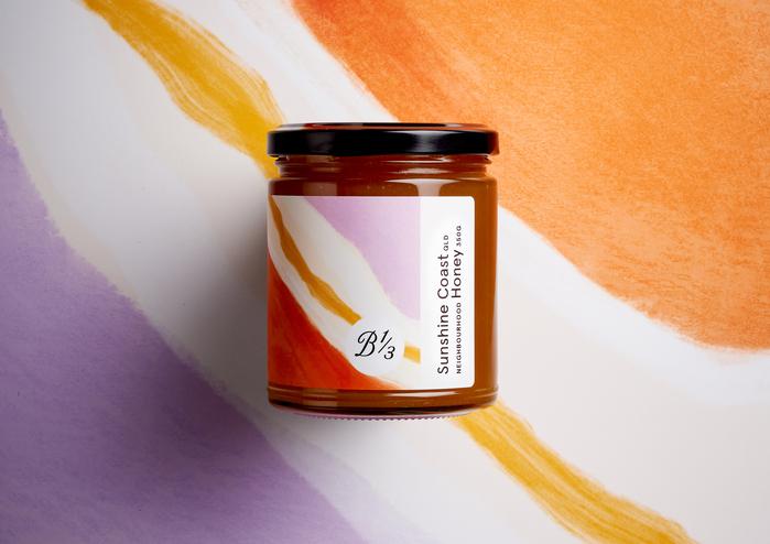350g neighbourhood honey jar