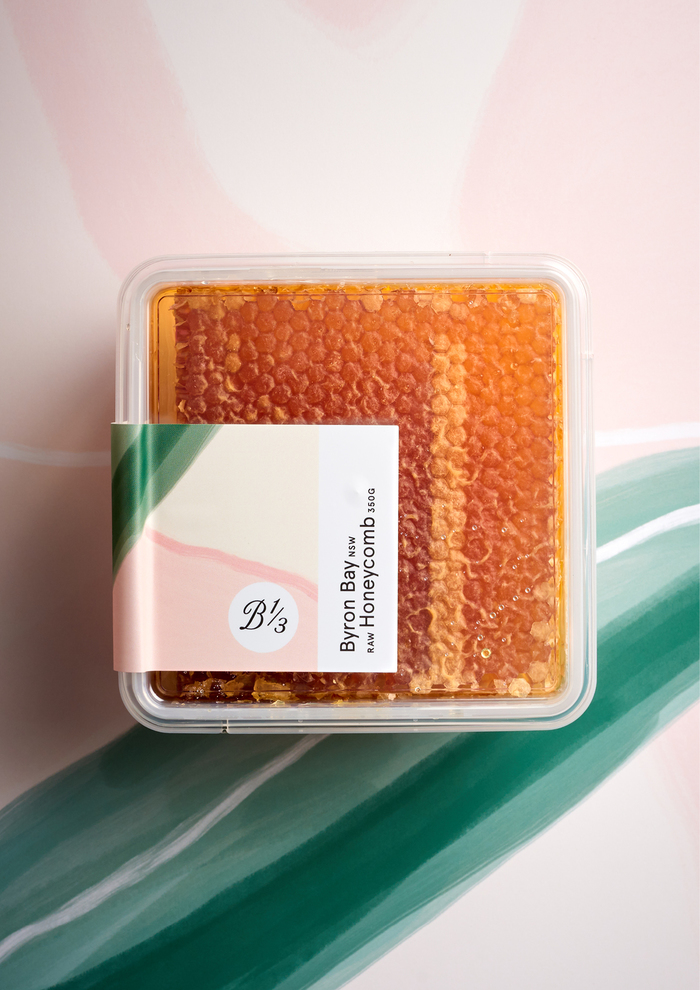 350g raw honeycomb container