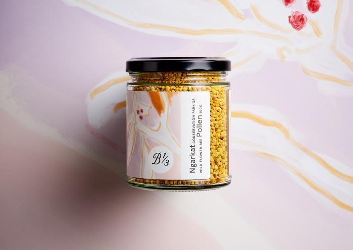 150g wild flower pollen jar