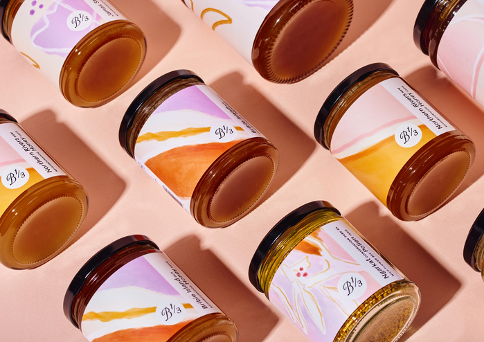 Honey jar collection