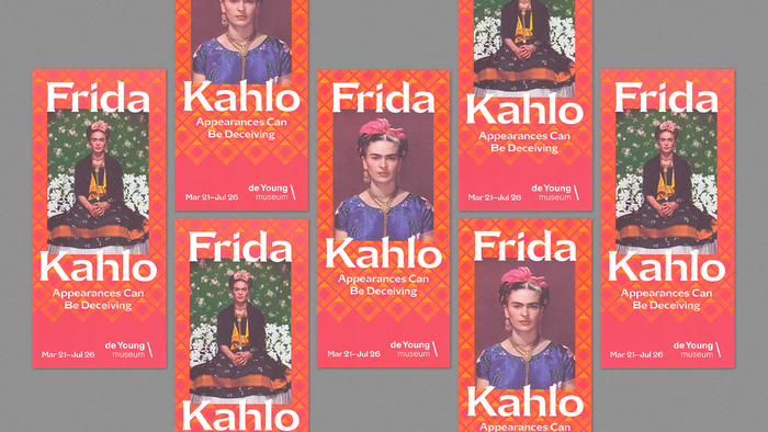 Frida Kahlo: Appearances Can Be Deceiving exhibition graphics 3
