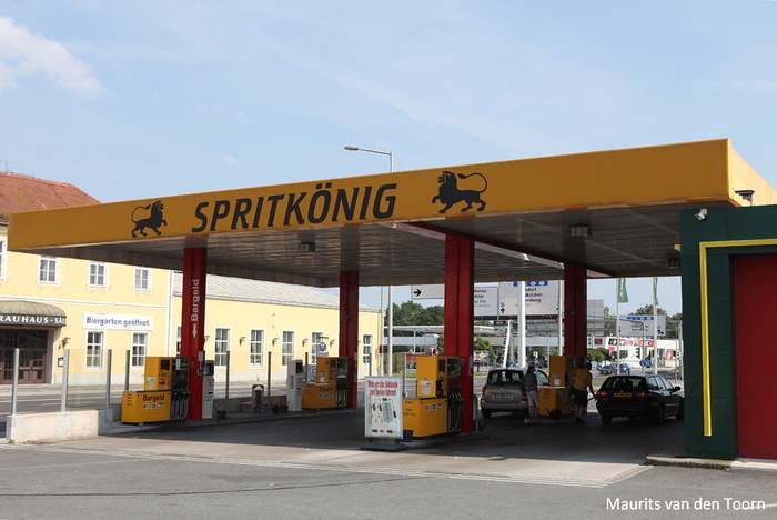 Spritkönig, Graz