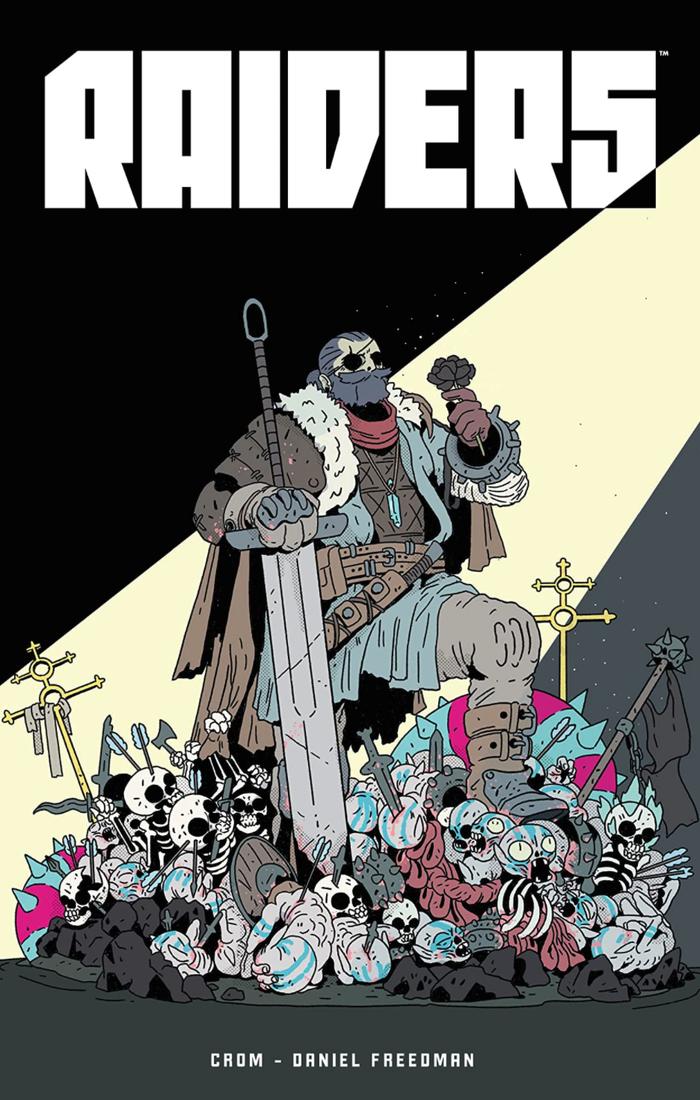 Raiders graphic novel by Daniel Freedman and Crom 2