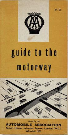 AA's <cite>Guide to the Motorway</cite> (1959)