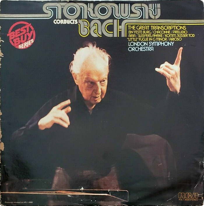 Stokowski Conducts Bach, The Great Transcriptions, The London Symphony Orchestra, 1975.