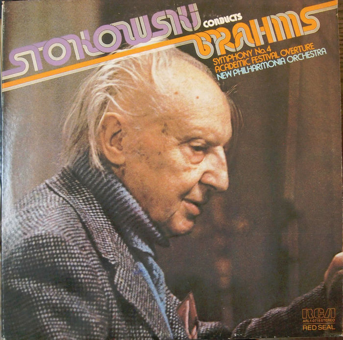 Stokowski Conducts Brahms, Symphony No. 4 & Academic Festival Overture, The New Philharmonia Orchestra, 1975.
